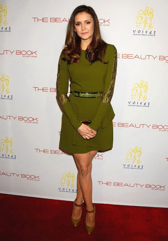 Nina Dobrev - The Beauty Book For Brain Cancer Edition Two Launch Party in Los Angeles, 12/3/2015