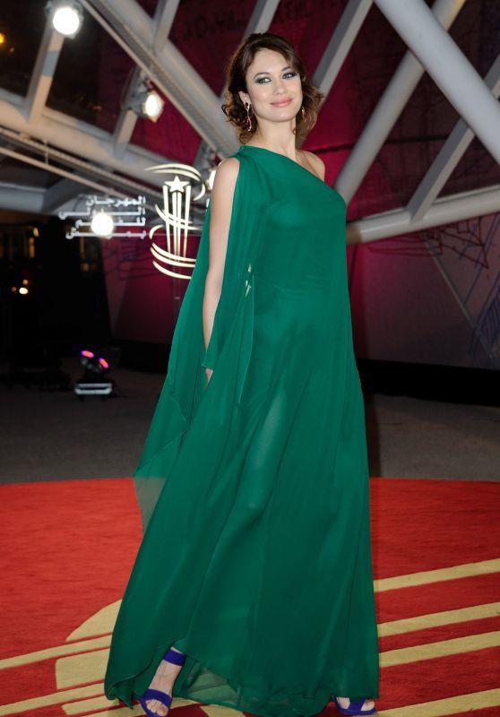 Olga Kurylenko - Closing Ceremony of the 15th Marrakech International Film Festival