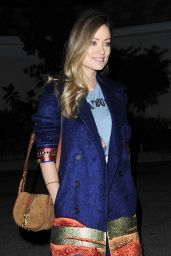 Olivia Wilde Night Out Style - Los Angeles, December 2015