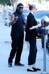 Paige Butcher & Eddie Murphy - Get Some Coffee at Coffee Bean in Los Angeles, December 2015