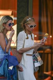 Paris Hilton and Nicky Hilton Rothschild - Out in St. Barts, December 2015