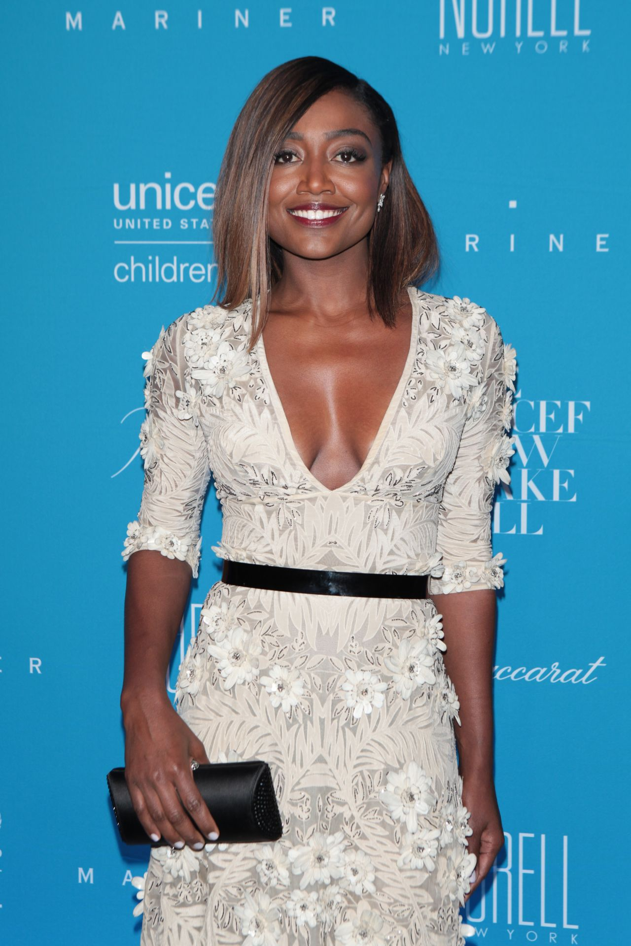 Patina Miller 2015 Unicef Snowflake Ball In New York City