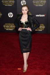 Peyton List – Star Wars: The Force Awakens Premiere in Hollywood