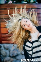 Peyton List - Teen Vogue Magazine December 2015 Pics