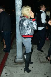 Pia Mia Night Out Style - at the Nice Guy in West Hollywood 12/12/2015