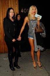 Pia Mia Perez  Night Out Style - Nice Guys in West Hollywood, December 2015