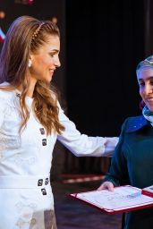 Queen Rania - 10th Teacher Award and 4th Principal Award Ceremony in Amman