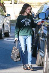 Rachel Bilson - Out in Los Angeles, December 2015