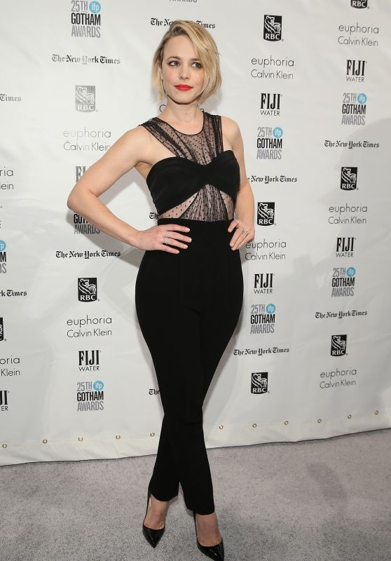 Rachel McAdams – 2015 IFP Gotham Independent Film Awards in New York