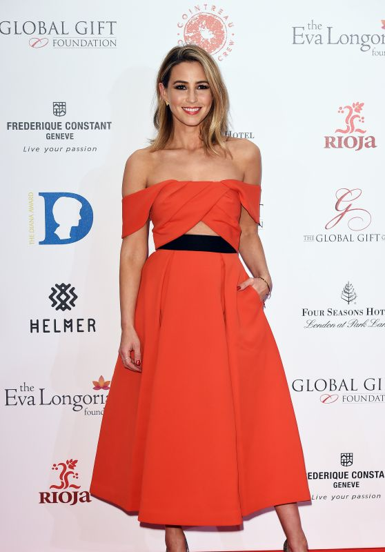 Rachel Stevens - The Global Gift Gala at Four Seasons Hotel in London, 11/30/2015