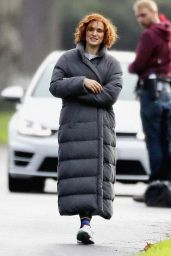 Rachel Weisz on the Set of