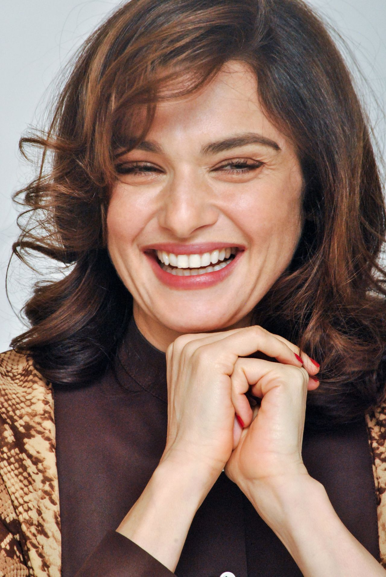 RACHEL WEISZ at Youth Press Conference in Los Angeles