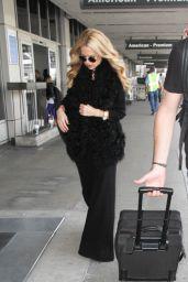 Rachel Zoe at LAX, 12/9/2015