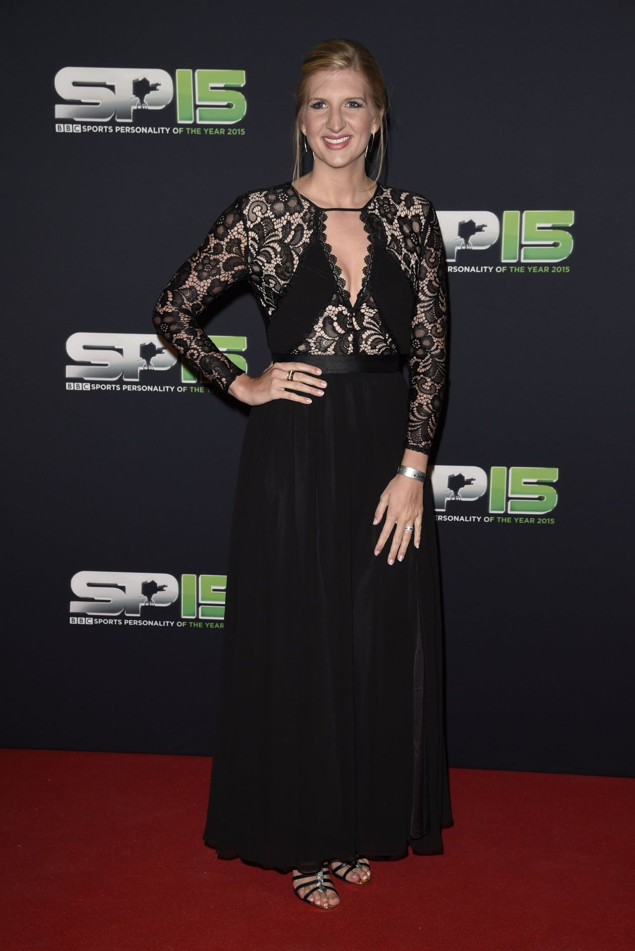 Rebecca Adlington – 2015 BBC Sports Personality of the Year Award at Odyssey Arena in Belfast, Northern Ireland