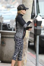 Reese Witherspoon in Spandex - Out in Los Angeles, 12/10/2015