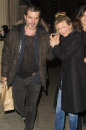 Renee Zellweger Night Out Style - London, December 2015