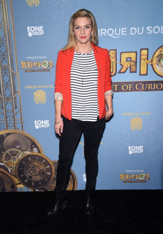 Rhea Seehorn – Cirque du Soleil's 'Kurios – Cabinet of Curiosities' Opening Night in Los Angeles 12/9/2015