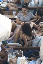 Rita Ora and Daisy Lowe in bikinis in Miami - 12/29/2015