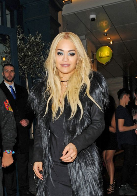 Rita Ora - Leaving Vas J Morgan