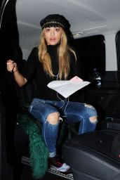 Rita Ora Night Out Style - ONE MAYFAIR in London, 12/15/2015