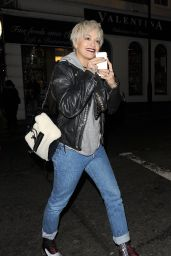 Rita Ora - Shows Off Her New Blonde Bob Haircut, Leaves Pizza Express in Notting Hill, 12/9/2015