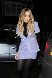 Rita Ora Style - Out in London, 12/13/2015