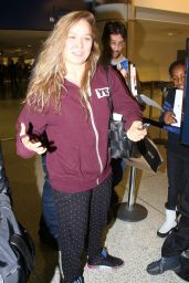 Ronda Rousey at LAX Airport, 12/12/2015