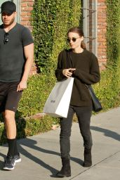 Rooney Mara Street Style - Out Shopping in Los Angeles, 12/9/2015