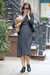 Rose Byrne Style - Out in New York City, December 2015