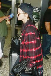 Ruby Rose - Arrives into Melbourne Airport 12/22/2015