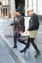 Ruby Rose - Out for Lunch in Hollywood 12/21/2015