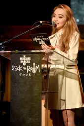 Sabrina Carpenter - Musicians On Call Rock The Room Tour in West Hollywood, December 2015