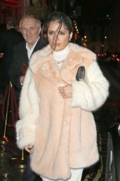 Salma Hayek - Charlotte Tilbury Naughty Christmas Party Flagship Store Launch in London, December 2015