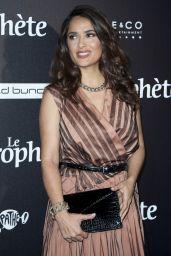 Salma Hayek – Le Prophete Premiere in Paris