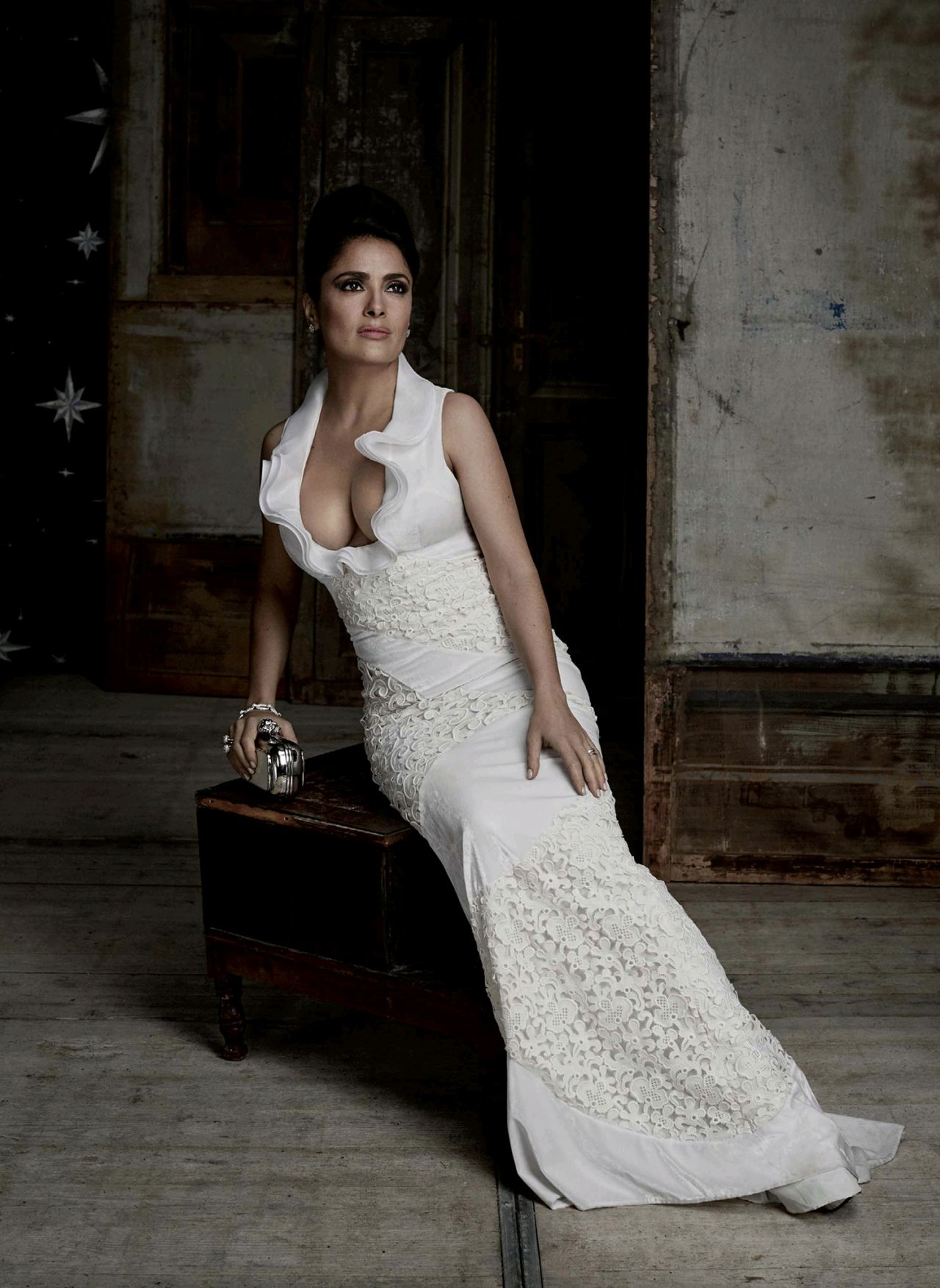 Salma Hayek – Photoshoot for Evening Standard December 2015