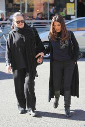 Salma Hayek Street Style - Beverly Hills, December 2015