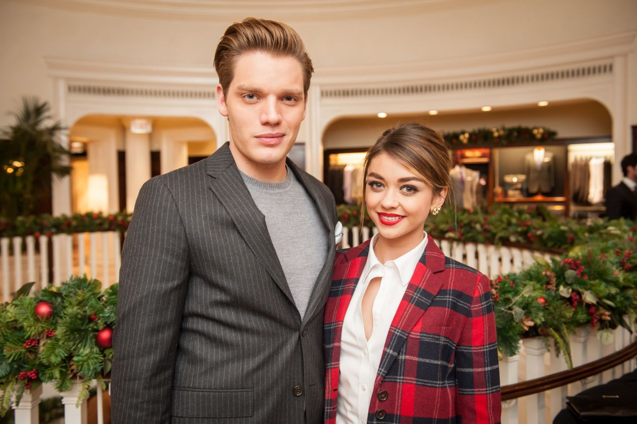 Sarah Hyland - GQ x Brooks Brothers Toast Men of Style in Beverly Hills, December 2015