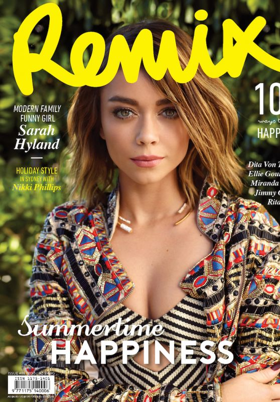 Sarah Hyland - Remix Magazine Issue #88 2015 Cover