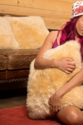 Sasha Banks - WWE Cabin Fever Photoshoot