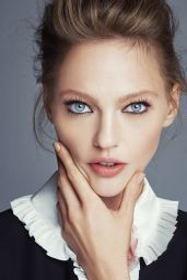 Sasha Pivovarova - Photoshoot for Allure Magazine January 2016