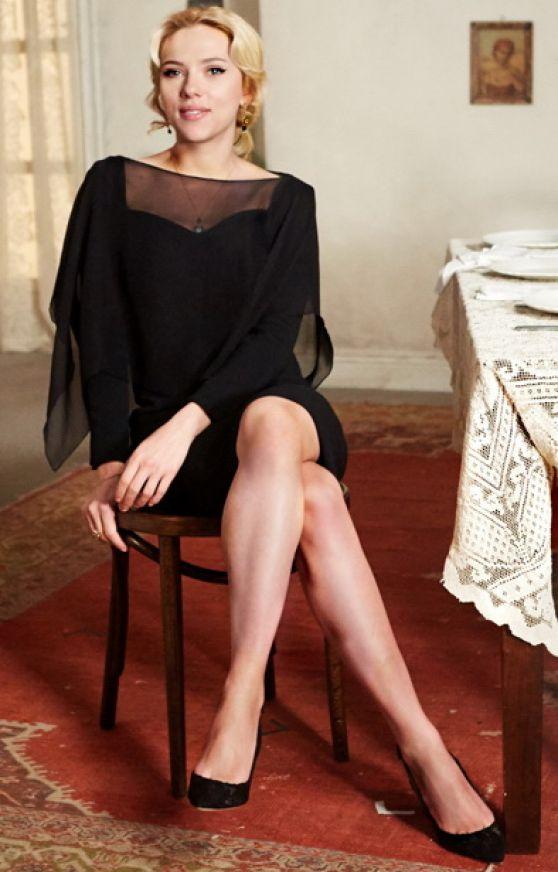 Scarlett Johansson - Dolce & Gabbana The One Essence ...