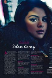 Selena Gomez - Billboard US Magazine December 2015 Issue