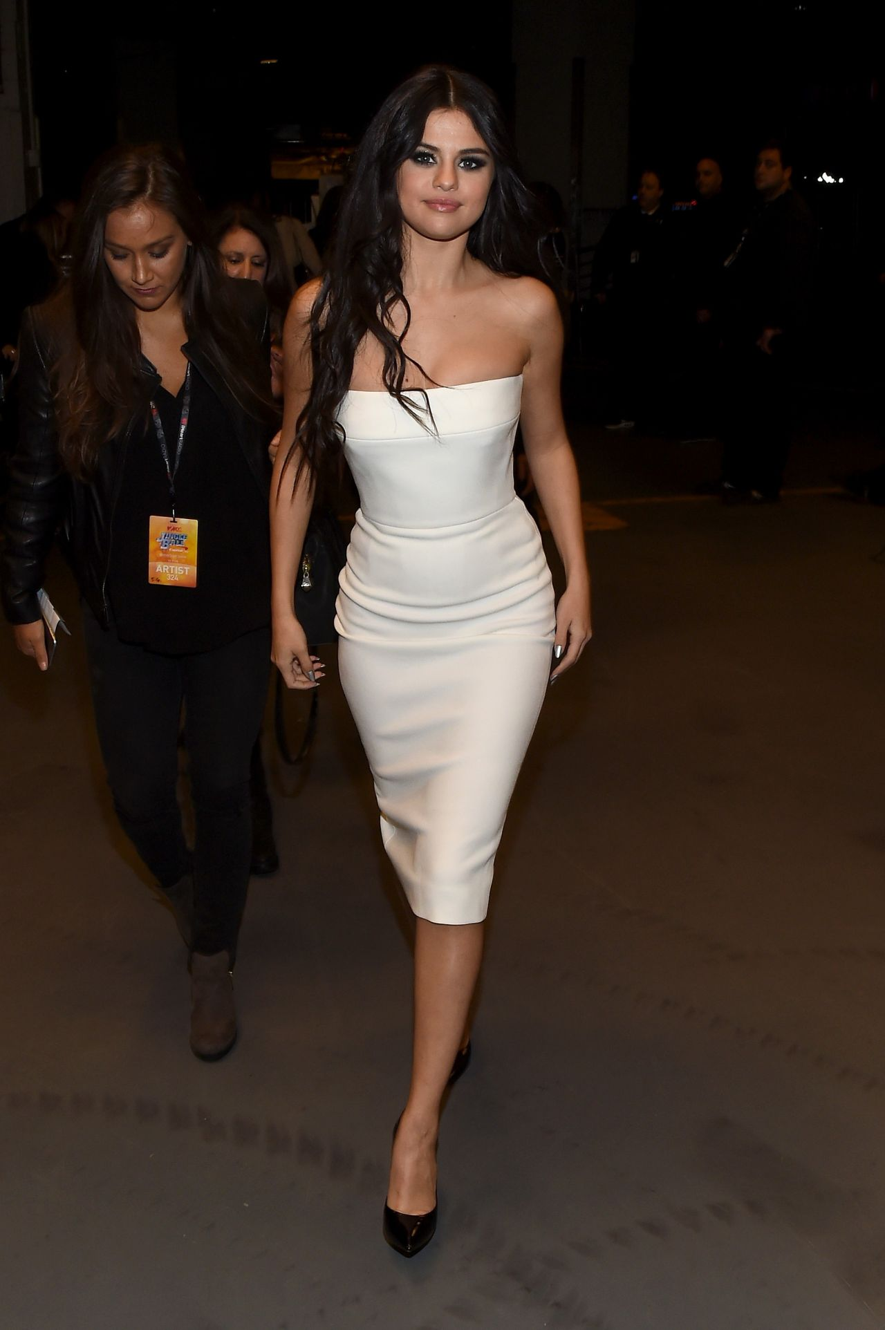 Selena Gomez on Red Carpet - Z100's Jingle Ball 2015 in ...