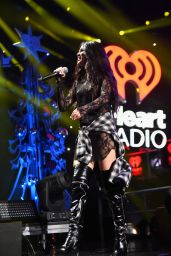 Selena Gomez Performing at Z100