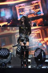 Selena Gomez Performing at Z100