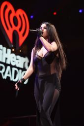 Selena Gomez Performs at Q102