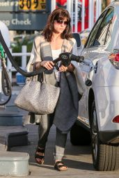 Selma Blair - Getting Gas in Sherman Oaks, December 2015