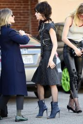 Selma Blair on Set of FXs American Crime Story in Hollywood, December 2015