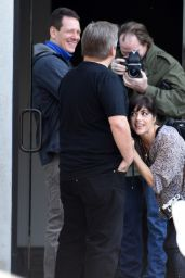 Selma Blair on Set of Her New Movie in Los Angeles 12/21/2015