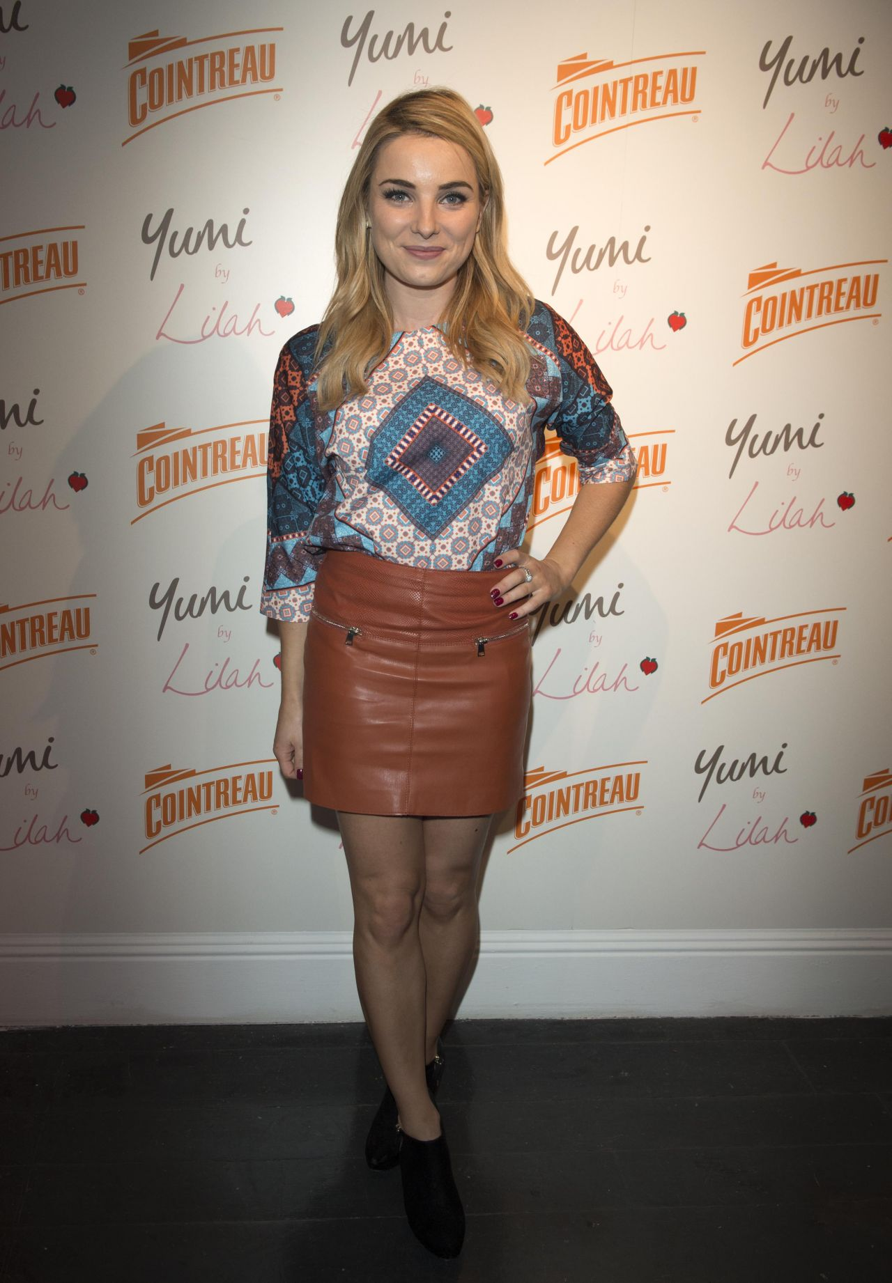 Sian Welby Cointreau Launch Party For Yumi By Lilah Spring Summer 2016 Collection In London